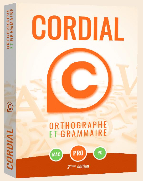 cordial pro correcteur orthographique grammatical