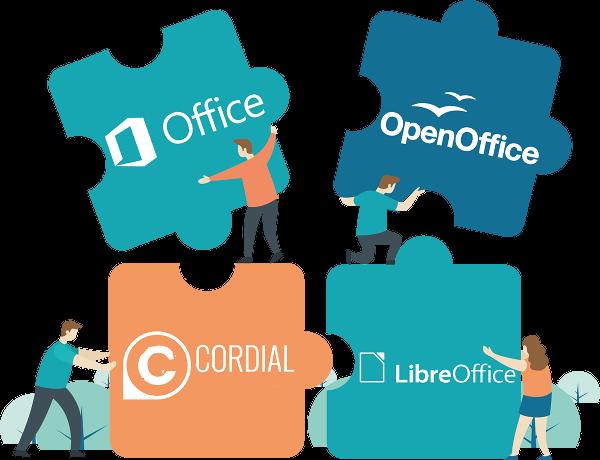La correction orthographique et grammaticale dans Office, OpenOffice et LibreOffice.