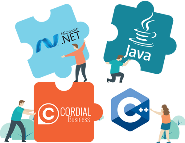 integration cordial business java .net c++ c