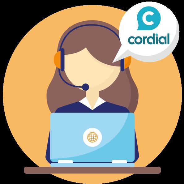 cordial correcteur orthographique service client assistance